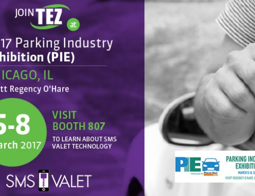 TEZ to Showcase SMS Valet at Parking Industry Exhibition 2017