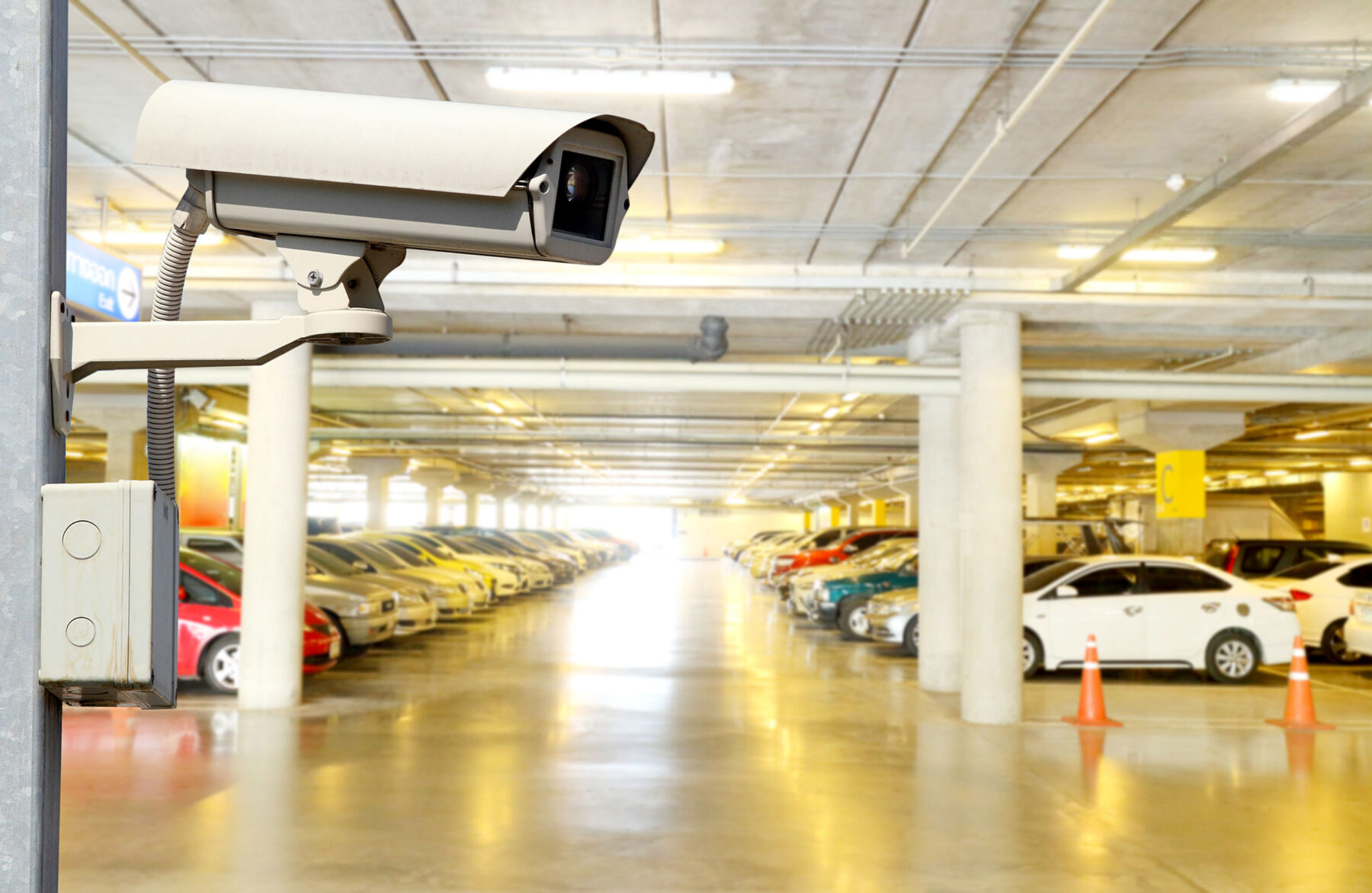 cameras in parking garage